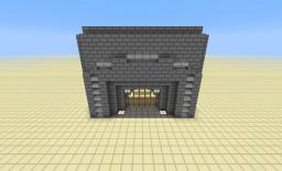 Redstone Castle Gate Minecraft Map & Project