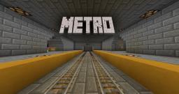 Metro - Nazi Zombies Survival (BROKEN) Minecraft Map & Project