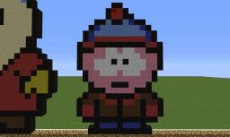 Pixel Art Stan (South Park) Minecraft Map & Project