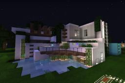 Modern Mansion 1 by WeronicaMC (2013) Minecraft Map & Project