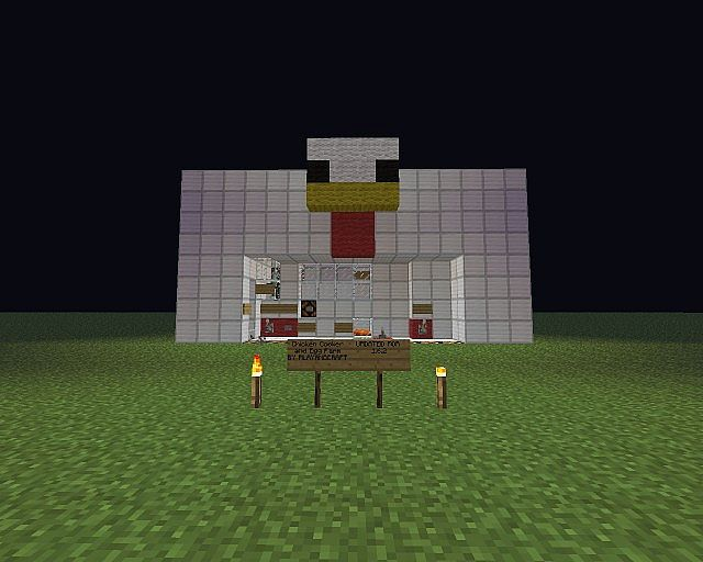Chicken Minecraft Style Minecraft Chicken Cooker
