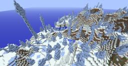 Ice Spike Biome (Minecraft Snapshot 13w36B) Minecraft Map & Project