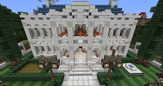 Southern Mansion Minecraft Project