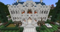 Southern Mansion Minecraft Map & Project