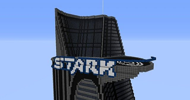 Stark Tower    The Avengers    Minecraft Project