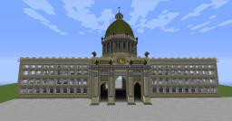 Berlin City Palace 1:1 scale replica Minecraft Map & Project
