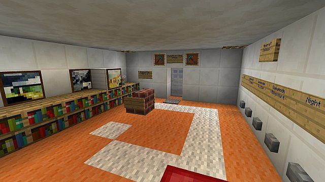 Notch 39 s mojang office minecraft project for Office design minecraft