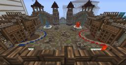 Arabic Style Capture the Flag Arena Minecraft Map & Project