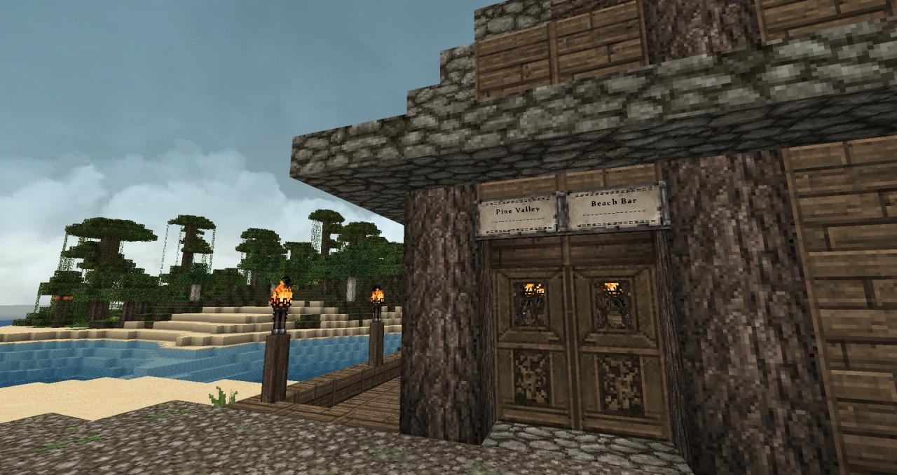Pine Valley Minecraft Map