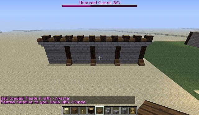 Medieval Castle Wall Design Minecraft Map