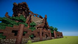 Nordic Manor Minecraft Map & Project