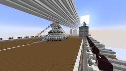 Huge Airship NEED DECORATORS Minecraft Map & Project