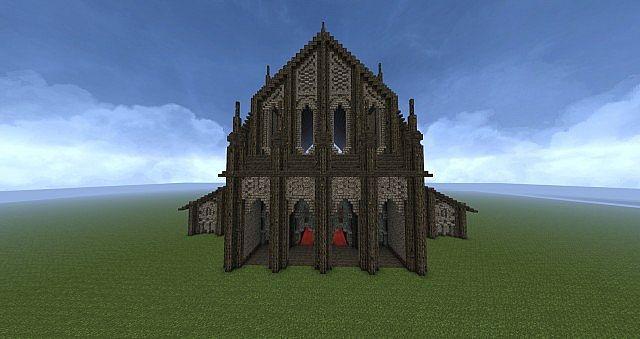 Medieval Basilica Minecraft