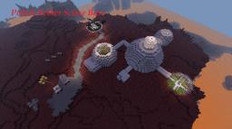 Polish Nether Science Base Minecraft Project