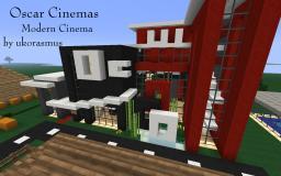 Oscar Cinema -  Minecraft Modern Cinema - by ukorasmus Minecraft Map & Project