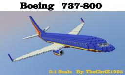 Boeing 737-800 [3:1 Scale] Minecraft