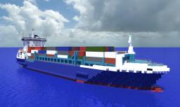 Anna Sirkka - Containership Minecraft