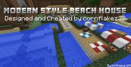 Build Off - Modern Style Beach House by cornflakez39 Minecraft Map & Project