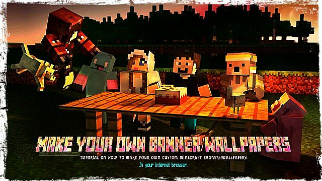 how to get a custom banner in minecraft