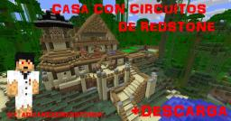 Casa Con Circuitos de Redstone Minecraft Map & Project