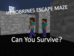 Herobrine Escape Maze !