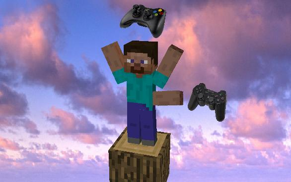 How To Use An Xbox Controller Or A PS Controller For Minecraft - Minecraft ps3 auf pc spielen
