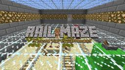 Rail Maze Minecraft Map & Project