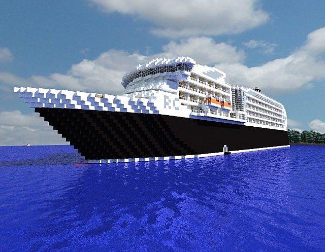 Regency Monarch Minecraft Cruise Ship Full Interior