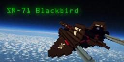 SR-71 Blackbird Minecraft Map & Project