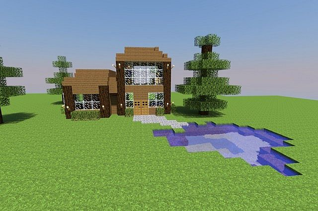 How To Craft A Minecraft House