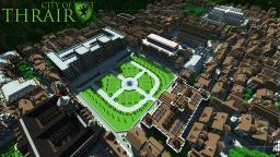 CITY OF THRAIR (Medieval / Fantasy city with 500 buildings!) Minecraft Map & Project