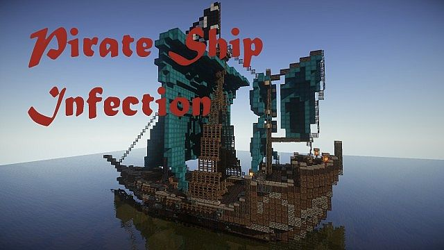 minecraft pirate ship map