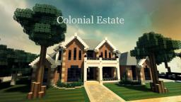 Colonial Estate Minecraft Map & Project