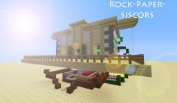 Rock-Paper-Scissors Minecraft Map & Project