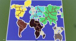 RISK in MC Minecraft Map & Project