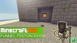 3x3 Funnel Piston Door for Adventure Maps