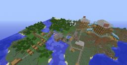 Medicval village Minecraft Map & Project