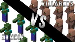 Zombie's Vs Villager's Minecraft Blog