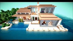 Minecraft villa Minecraft