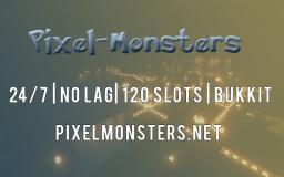 Pixelmonsters Pixelmon No Lag 24/7 Bukkit Minecraft Server