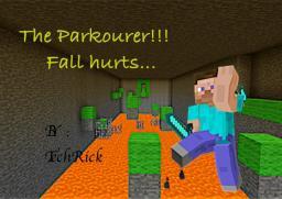 The parkourer: Fall Hurts... Minecraft