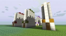 Minimalistic Future Houses Minecraft Map & Project