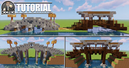 Bridge designs + Tutorial + Schematic Minecraft Map & Project