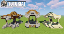 Well Designs + Schematic Minecraft Map & Project