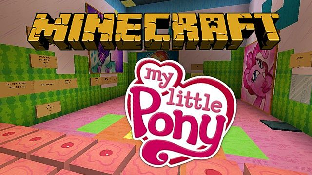 MiniGames Puzzles And Adventure Maps Minecraft Collection - My little pony skins fur minecraft