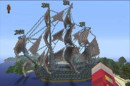 Evil Shark Ship^^ Minecraft Map & Project