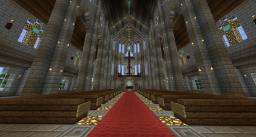 Medium Cathedral Minecraft Map & Project