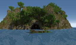 Jungle-Island or Jungle-Hungergames Minecraft Map & Project