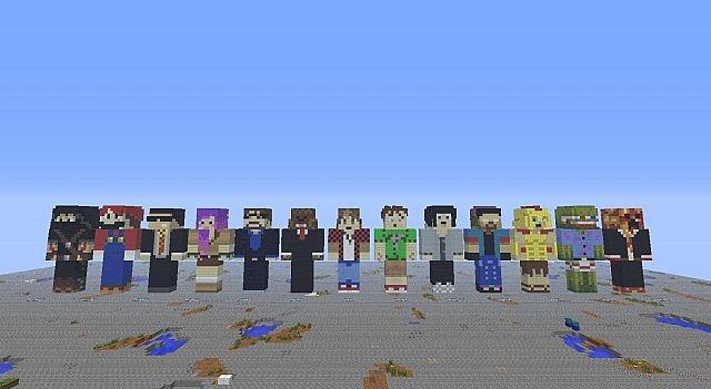 Minecraft Statues Season 2 Minecraft Project