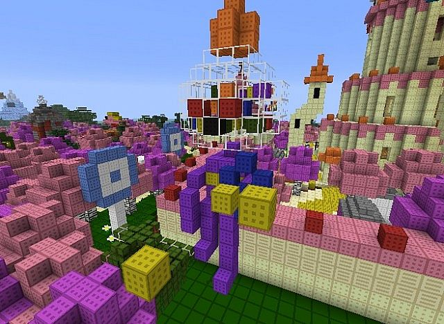 Adventure Time The Land Of Ooo Minecraft Project